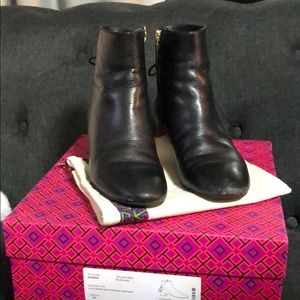 Tory Burch bootie calf leather